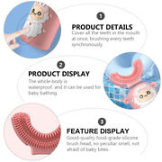 1 Pc Practical Portable U-shaped Toothbrush Electric Toothbrush