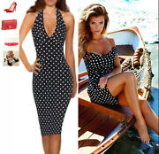 70 Off Sale Gorgeous Dolce And Gabbana Italy Silk Dot Dress Sz 42 185.00 Off