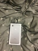 Apple Iphone 7 - 256gb - Silver Unlocked A1778 Gsm