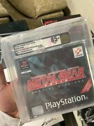 Metal Gear Solid Special Missions Pal Vga Gold 85+