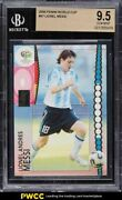 2006 Panini World Cup Germany Lionel Messi 47 Bgs 9.5 Gem Mint