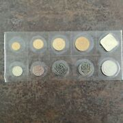 Rare 1990 Ussr Russian Official Year Set Mint Coins Ussr Cccp Soviet Union