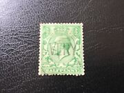 Great Britain 1/2d George V Green Stampwith Very Markused