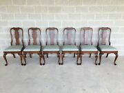 Pennsylvania House Queen Anne Solid Cherry Dining Side Chairs - Set Of 6