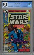 Star Wars 16 Cgc 9.2 1st App Valance The Hunter White Pages