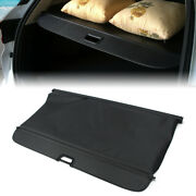 Rear Tail Trunk Security Cargo Cover Shield Shade For Bmw X5 E53 2003-06 Black