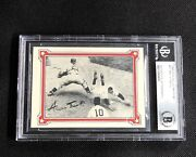 Hof Willie Mays 1984 R.g.i. Mays Story Signed Autographed Card Bas Authentic