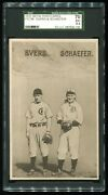 1910 Pc796 Johnny Evers And Germany Schaefer - Sgc 5.5