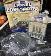 Lionel Trains Talking Coin Sorter W/ Clock And Railroad Sounds