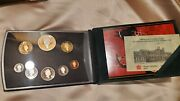 Canada - 1998 Proof Double Dollar Set - Case, Box And Cert - Free Shipping