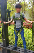 Cn Air Force Personnel Parachute Harness Safety Belt