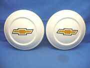 Vintage Pair Of Nos 1972-81 Chevy Luv Dog Dish Hubcaps