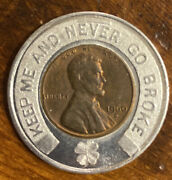 1960 D Encased Cent Bandb Coin Shops Indianapolis In Keep Me And Never Go Broke