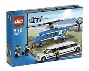 Misb Lego Helicopter And Limousine 3222