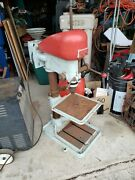 Awesome Vintage Champion Blower And Forge Electric Bench Drill Press Heavy Duty