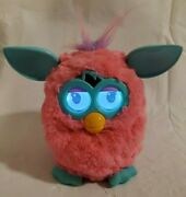Hasbro Furby Cotton Candy Pink Teal Interactive Toy 2012 - Tested And Working