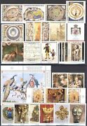 2018 Smom , Stamps New, Year Complete 32 Values +7 Sheetlets Mnh