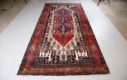 11and039 3 X 5and039 3 Vintage Rug Soft 5x11 Handmade Antique Tribal Rustic Wool Carpet