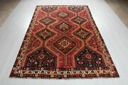 Vintage Tribal Area Rug Rustic Red 8and039 1 X 5and039 6 Hand-knotted Oriental Carpet