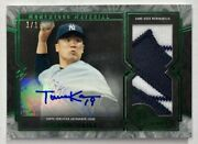 Masahiro Tanaka Autographed Patch 2017 Topps Museum Collection Momentous