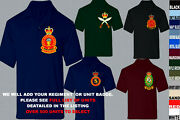 Units A To D Army Royal Navy Air Force Marines Raf Regiment Polo Shirt Xs To 5xl
