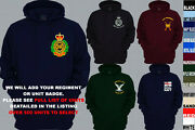 Units A To D Army Royal Navy Air Force Marines Regiment Pullover Hoody Xs To 5xl