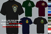Units A To D Army Royal Navy Air Force Marines Raf Regiment T Shirt Xs To 5xl