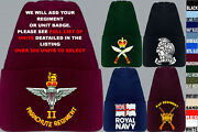 Units A To D Army Royal Navy Air Force Marines Raf Regiment Beanie Wooly Hat