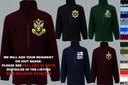 Units 1 To A Army Royal Navy Air Force Marines Regiment Fleece Jacket Xs To 5xl