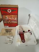 Wings Of Texaco 1930 Travel Air Model R Mystery Ship Airplane 5th In The Series