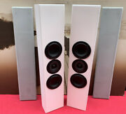 Totem Acoustics Tribe Ii Home Theater On-wall Speakers Audiophile White Pair