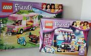 Lego 3184 Friends Adventure Camper Retired And Lego 41004 Rehearsal Stage Xtras
