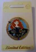 Disney Merida And Cubs Brave Limited Edition 500 Pin Badge 2012