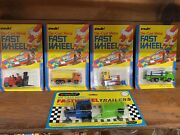 Playart Fast Wheel Mint In Blisterpacks With Original Shipping Box