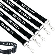 Bulk 100 - Breakaway Lanyard Keychain With Id Badge Clip For Security Personnel