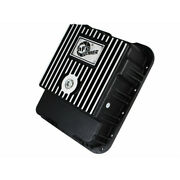 Afe For Gmc Sierra 1500 Classic Transmission Pan Black W/ Machined Fins