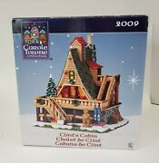Nib Lemax Carole Towne Collection Clintand039s Cabin Lighted Building 95847 2009
