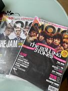 Mojo Magazine The Rolling Stones And The Jam Lot Of 2 With Cd