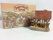 David Winter Cottages Little Market 1980 Collectible In Box Hand Painted Uk