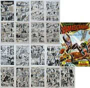 The Phantom 1981 Spain Comic Book Issue 48 17 Interior Art Proof Pages