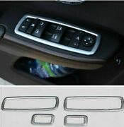 4pcs Chrome Window Switch Panel Cover Trim For Jeep Grand Cherokee 2011-15 News