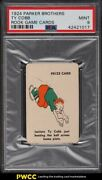 1924 Parker Brothers Rook Game Cards Ty Cobb Psa 9 Mint