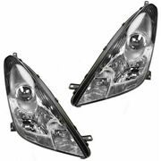 Fits 2000-2005 Toyota Celica Pair Headlights Driver And Rh