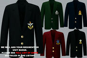 Units Q To R Army Royal Navy Air Force Marines Regiment 2 Button Blazer To 52