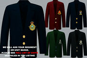 Units R To R1 Army Royal Navy Air Force Marines Regiment 2 Button Blazer To 52