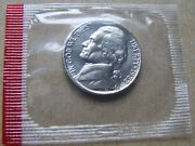 1988 D Uncirculated Nickel In Mint Cello