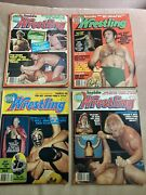 Victory Sports Series Inside Wrestling - 1977 4 Issues