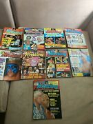 Victory Sports Series Inside Wrestling - 1990 9 Issues Big Names Rare