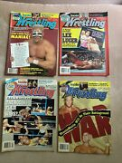Victory Sports Series Inside Wrestling - 1992 4 Issues Big Names Rare