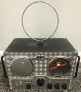Spirit Of St Louis Field Radio With Cassette Player Tested Works